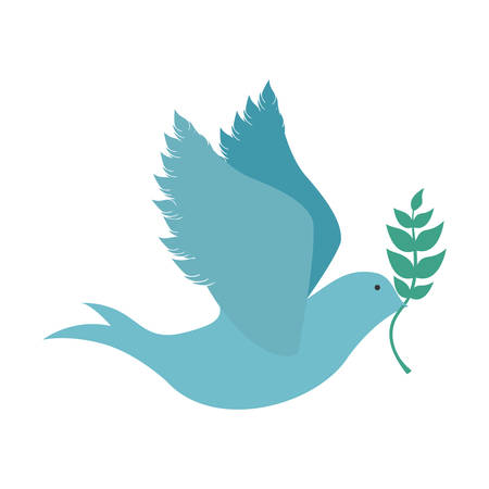 peace dove icon image vector illustration design