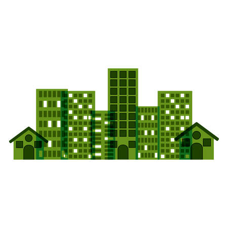 Ctiy building icon. Architecture urban modern and metropolis theme. Isolated design. Vector illustration