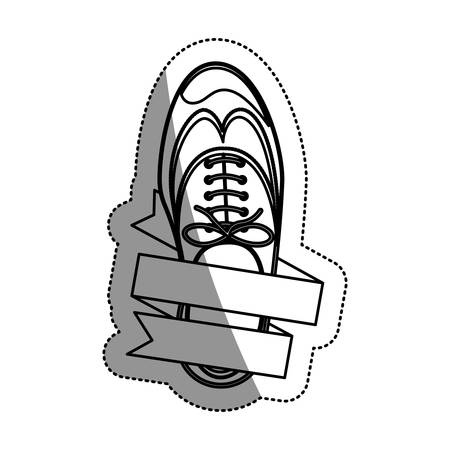 Male shoes icon. Cloth fashion style wear and shop theme. Isolated design. Vector illustration Illustration