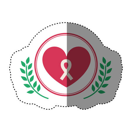 Heart icon. Medical health care hospital and emergency theme. Isolated design. Vector illustration