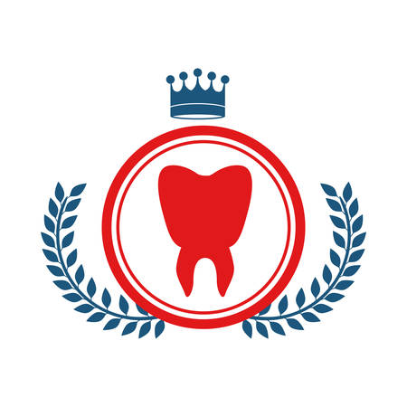 injure: Teeth icon. Medical health care hospital and emergency theme. Isolated design. Vector illustration Illustration