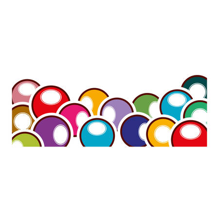 billiard ball: Ball of Billiard icon. Sport game hobby and competition theme. Isolated design. Vector illustration