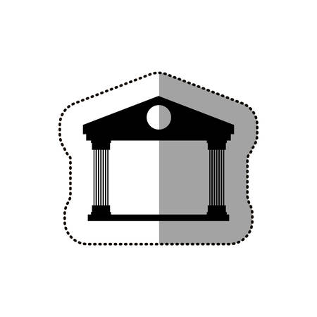 metropolitan: Building icon. Architecture urban modern and downtown theme. Isolated design. Vector illustration