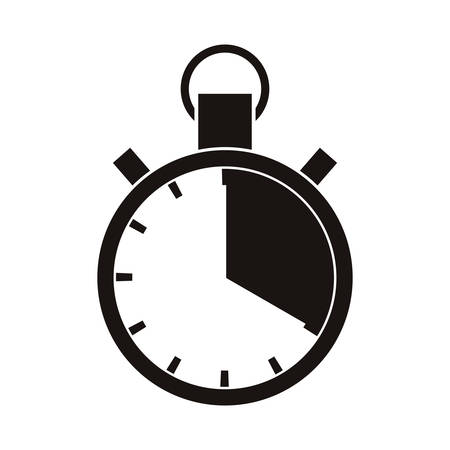 Sport chronometer timer icon vector illustration graphic