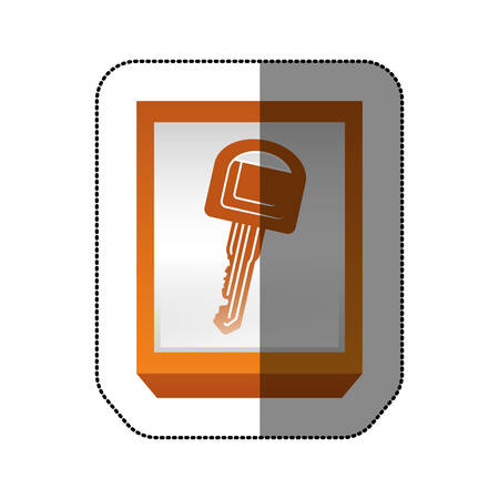 Car key isolated icon vector illustration graphic design