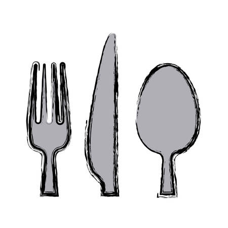 Restaurant cutlery utensils icon vector illustration graphic design