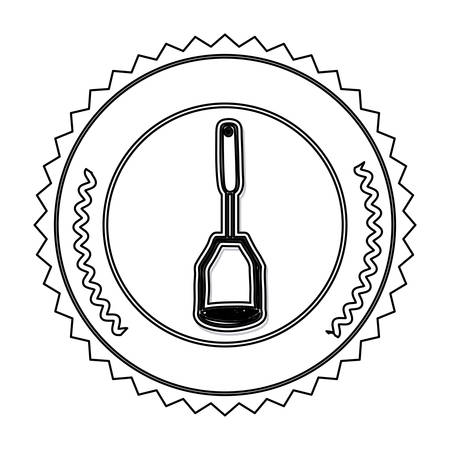 Kitchen cooking utensil icon vector illustration graphic design