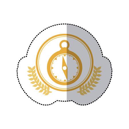 symbol pocket watch icon, vector illustration image
