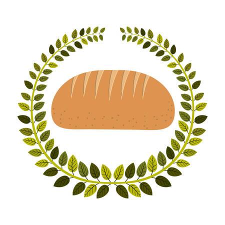 emblem breads symbol icon design, vector illustration