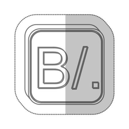 panamanian: Panamanian balboa currency symbol icon image, vector illustration