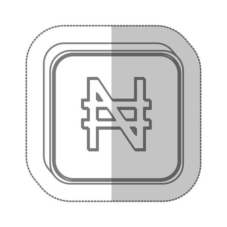renminbi: nairas currency symbol icon image, vector illustration Illustration
