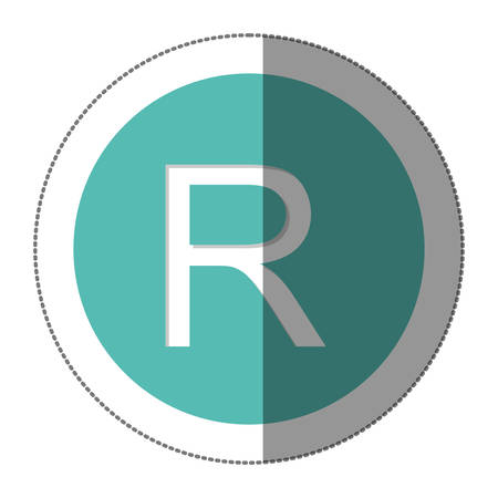 Rand Currency Symbol Icon Image Vector Illustration Royalty Free