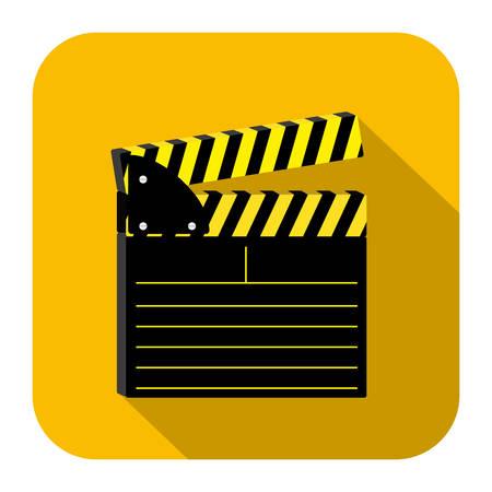 melodrama: symbol short film icon image, vector illustration design Illustration