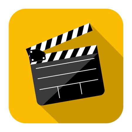 blockbuster: symbol short film icon image, vector illustration design Illustration