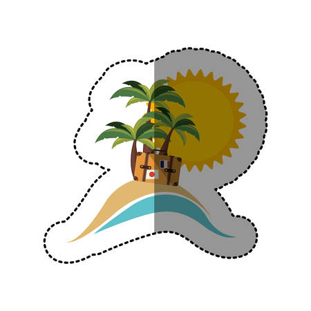 symbol beach icon image, vector illustration design