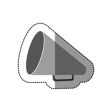 symbol megaphone icon image, vector illustration design