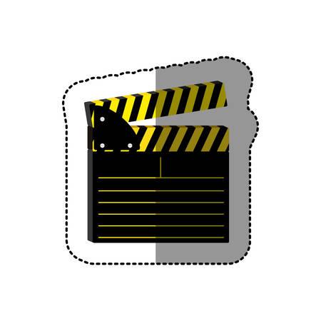 symbol short film icon image, vector illustration design Illustration