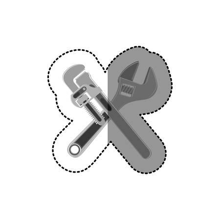 symbol tools icon design, vector illustration image
