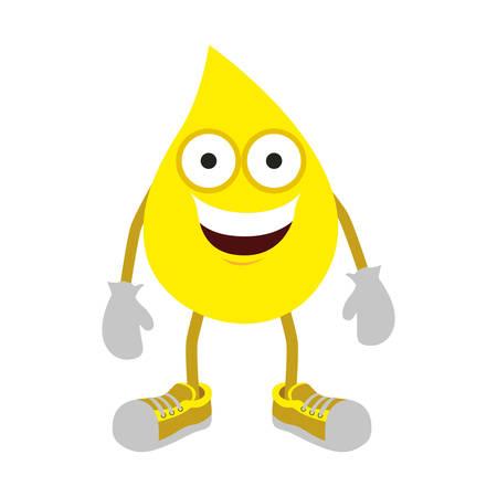 drop oil icon image design, vector illustration Illustration