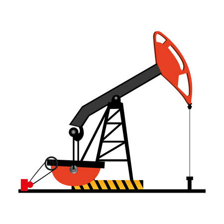 petrol pump: oil machine icon image design, vector illustration