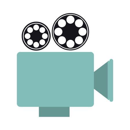 recorder short film icon image, vector illustration design Illustration