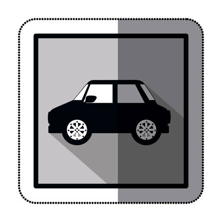 means: means of transport stock icon image, vector illustration
