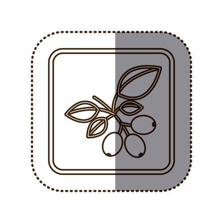 arbol de cafe: coffee tree icon image design, vector illustration