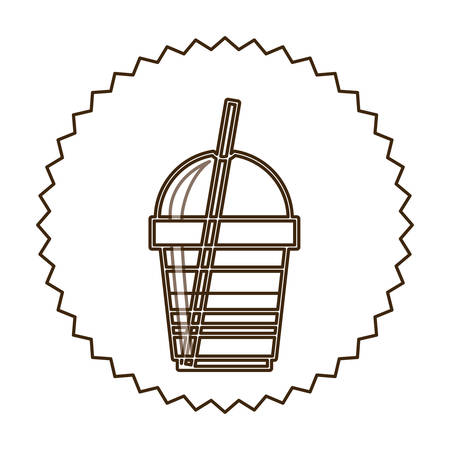 coffee espresso icon image, vector illustration design Illustration