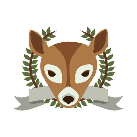 exclusively: emblem bear hunter city icon, vector illustration image