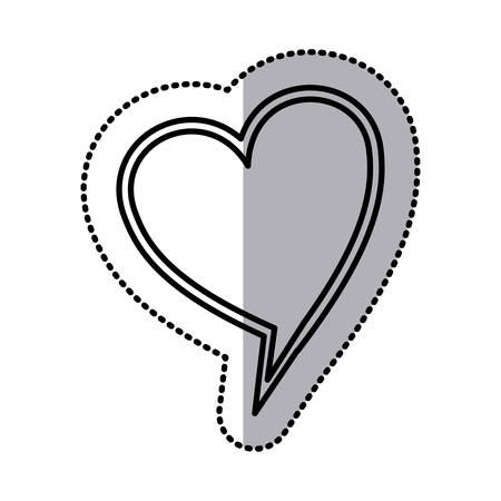 chat bubble heart icon stock image, vector illustration design Illustration