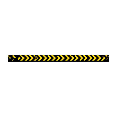 cordon: color silhouette with police line tape vector illustration Illustration