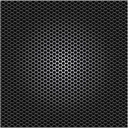 perforated: metallic grill perforated background design vector illustration Illustration