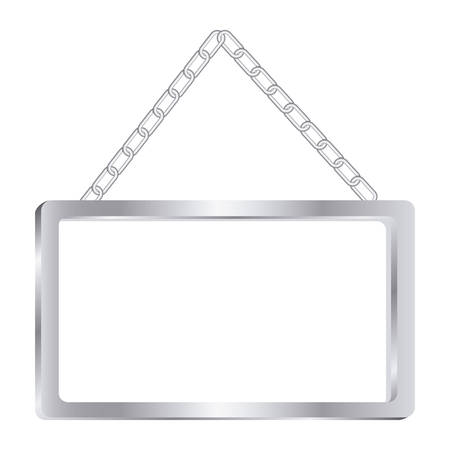 art museum: square painting frame icon, vector illustration design image
