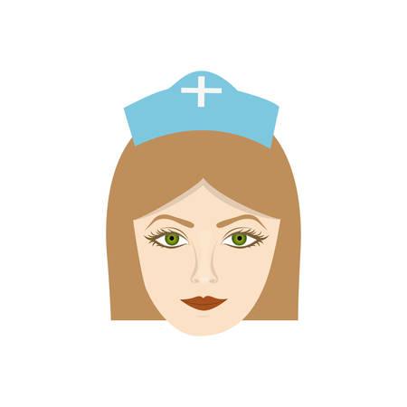 face nurce icon image, vector illustration desig