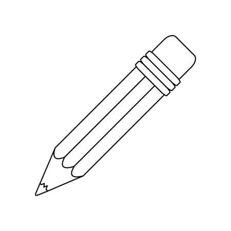 conotur pencil icon stock image, vector illustration design Illustration