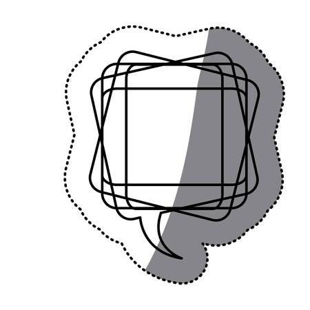 white square chat bubble icon
