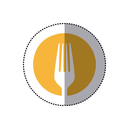 symbol fork tool icon Illustration