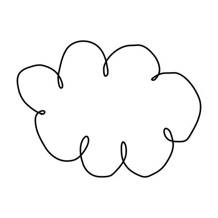 figure clound network service icon, vector illustration design Illustration