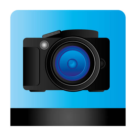 studio professional camera icon, vector illustration design Illustration