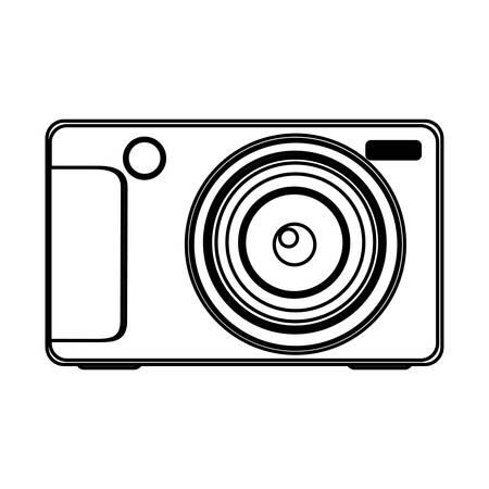 technologic: figure technologic digital camera icon, vector illustration design Illustration
