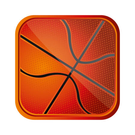 ball basketball background icon, vector illustration design