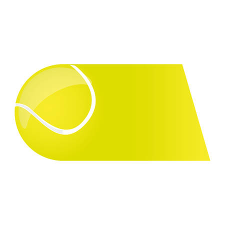 colorful background of fast moving tennis ball vector illustration