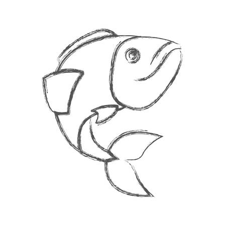 Large Mouth Bass Drawing