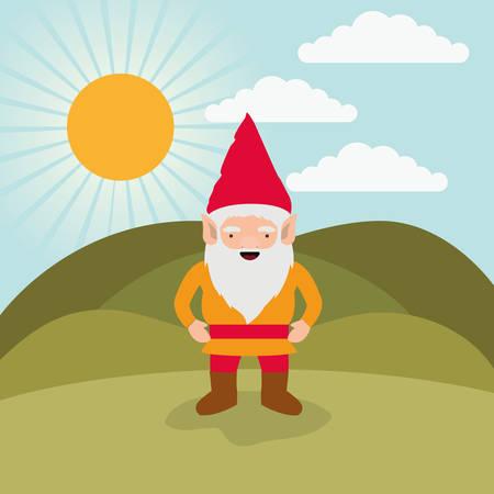 Happy gnome icon.