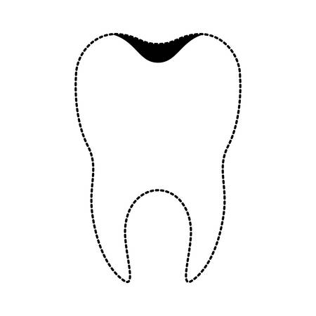 Healthy tooth icon.