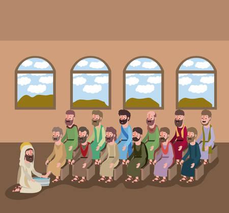 holy week biblical image