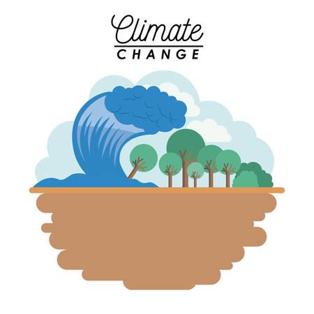 Auswirkungen der Klimawandel Standard-Bild - 95372662