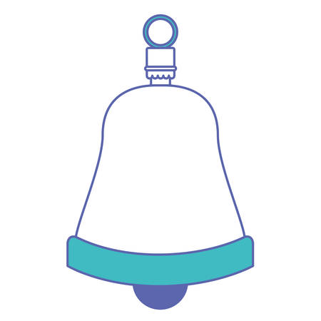 Celebration bell isolated icon vector illustration design.