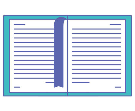 electronic book in tablet vector illustration design