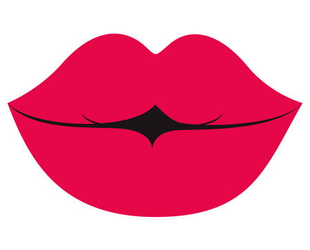 lips isolated icon vector illustration design Illustration